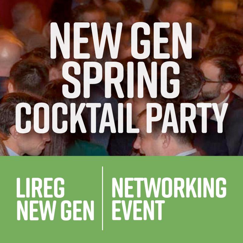 LIREG NEW GEN SPRING COCKTAIL PARTY