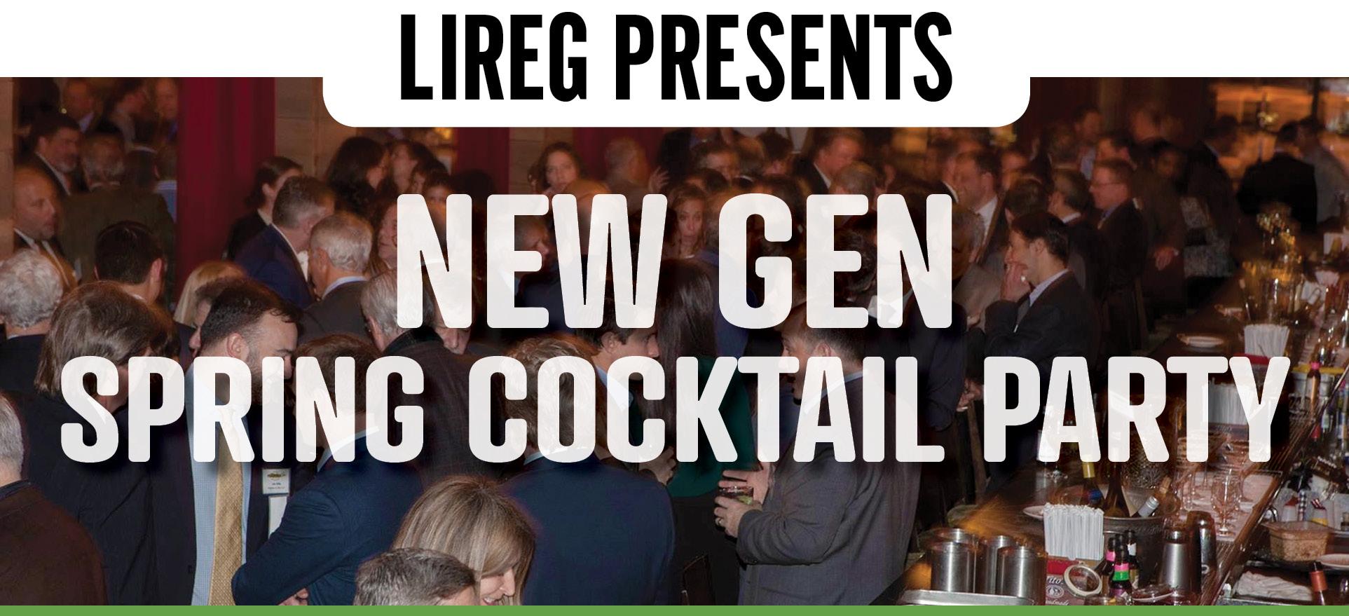 New Gen Spring Cocktail Party Lireg