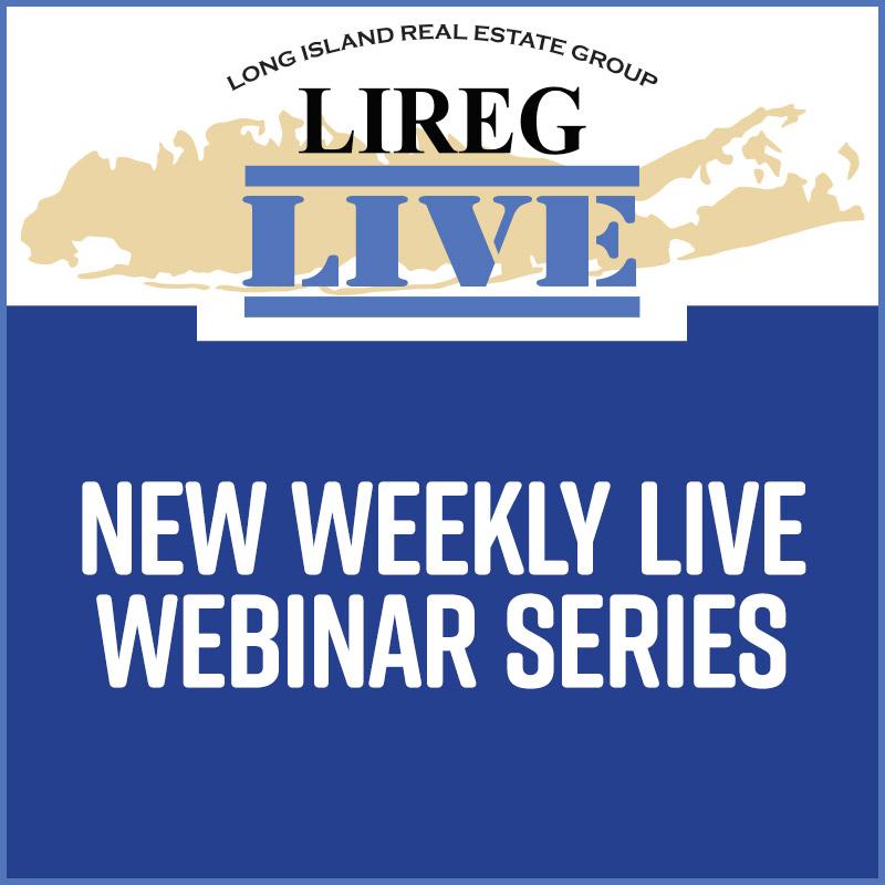 LIREG LIVE WEBINAR SERIES